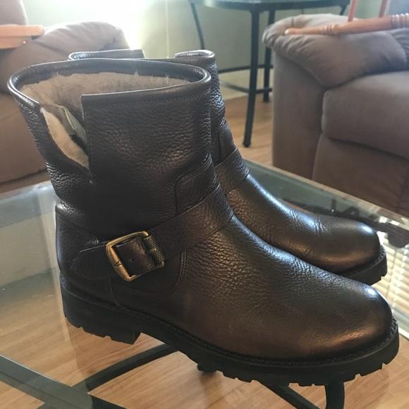 81420be25caf Frye Shoes   Like New Natalie Short Engineer Lug Boot 7   Poshmark
